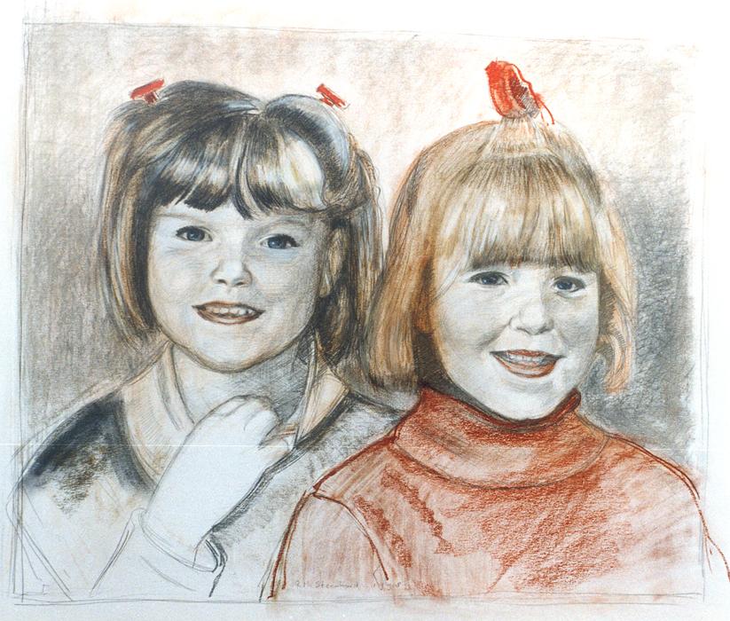 2Meisjes,zusjes(Brussel)1998