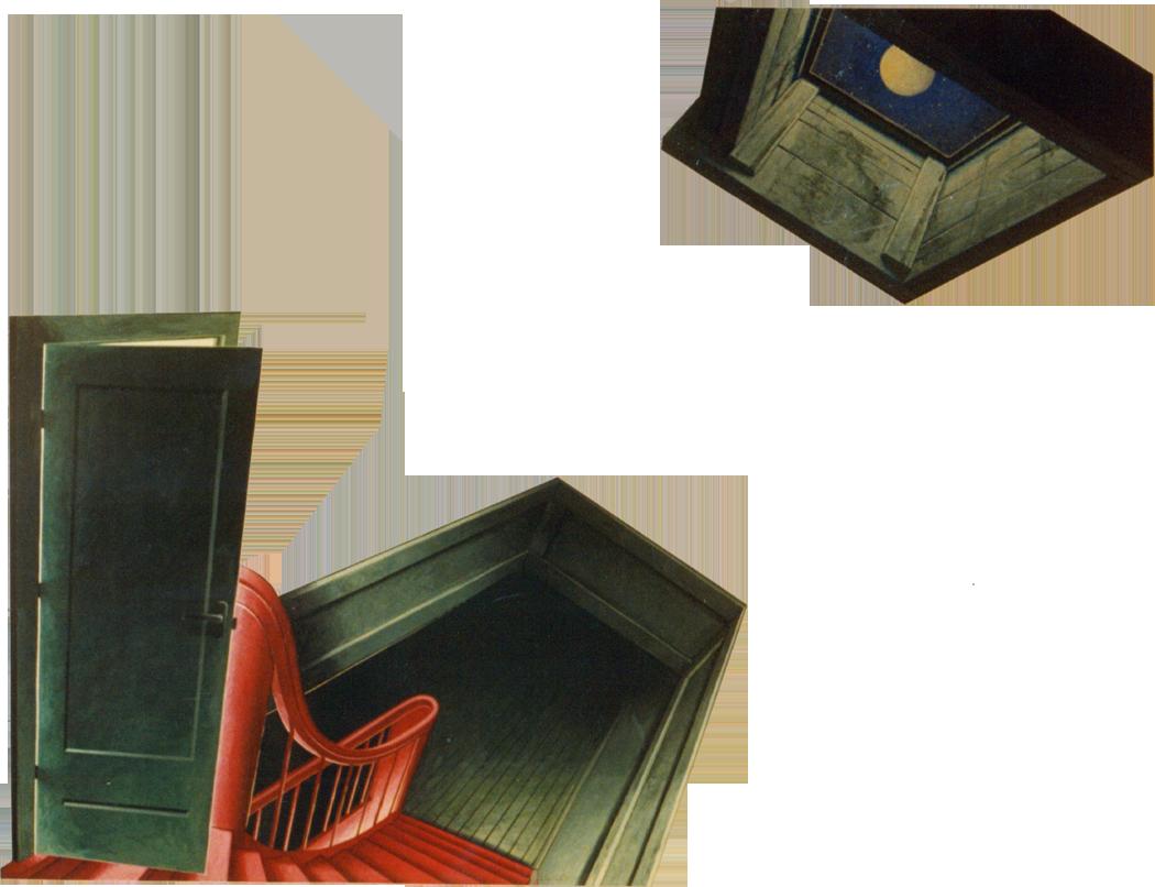 Trapportaal 1981 100 x 55cm?750pixH
