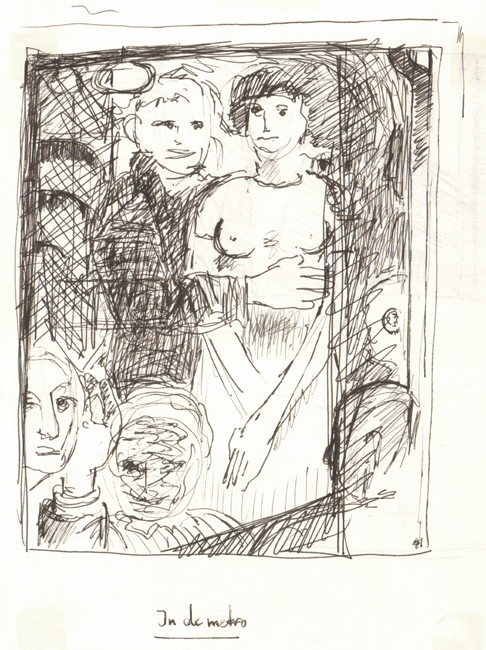 In de metro 1987