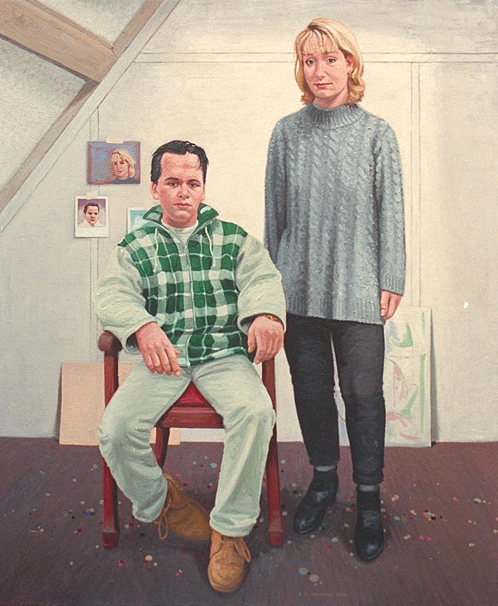 Daniëlle en Aldert Idema 1997 850