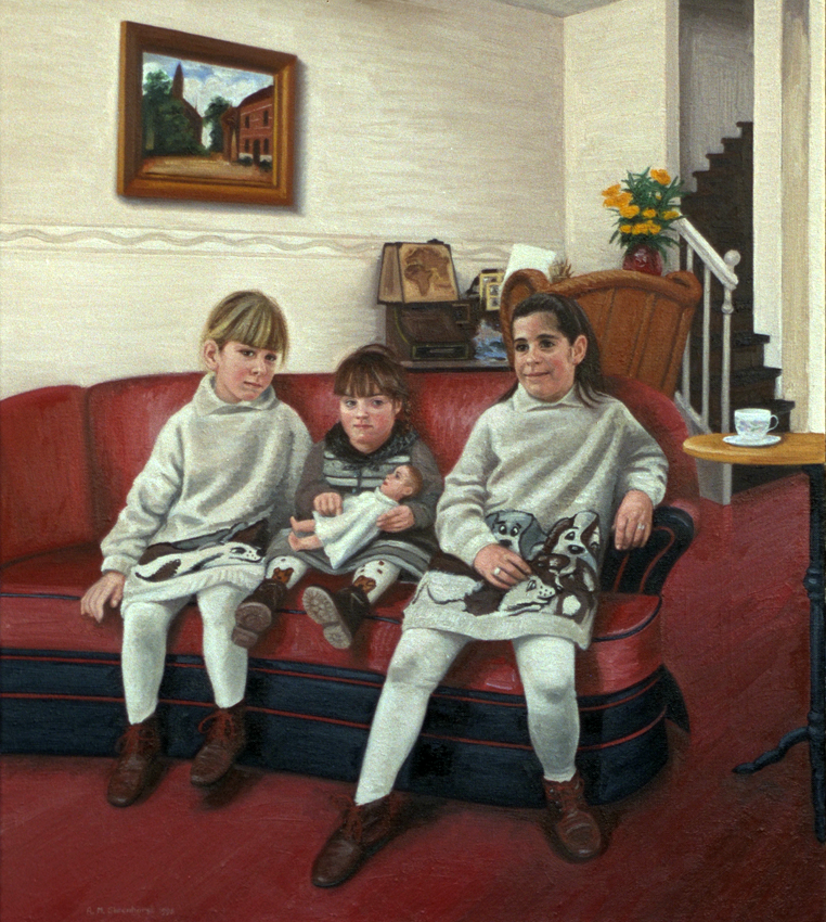 Fleur, Blanche en ??? de Vries 1995 850 (De portretwinkel)