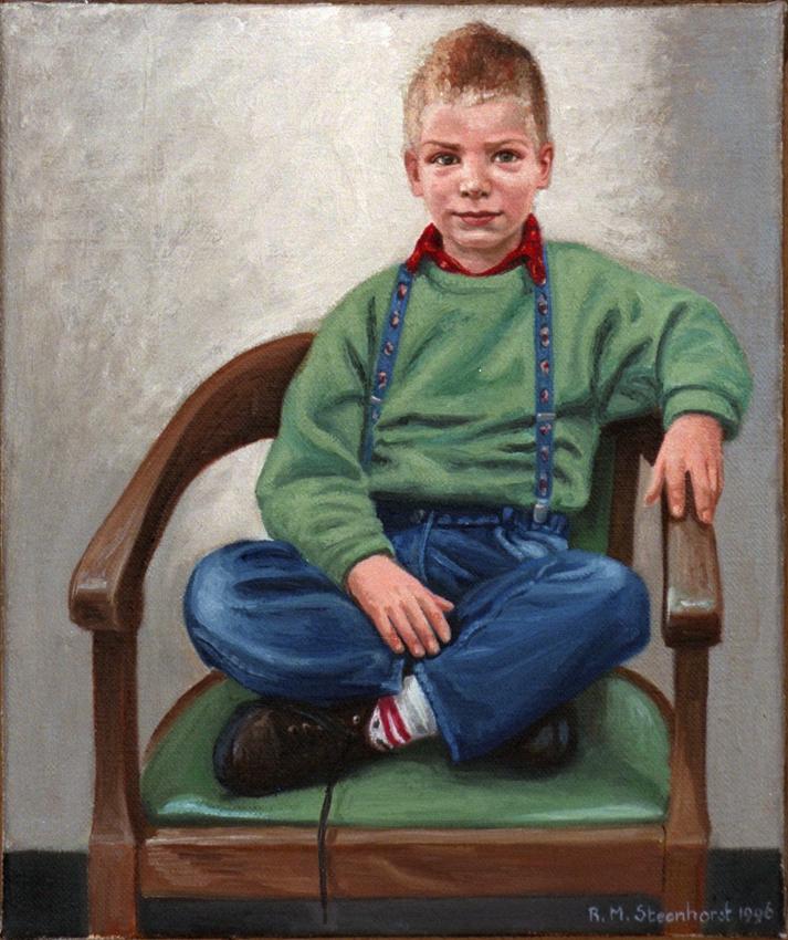 Huurdeman (jongste zoon) Amsterdam 1996 30 x 35 cm