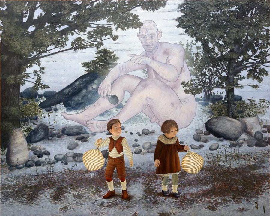 Hansel en Gretel zijn verdwaald 2015 60 x 75 900pxbreed
